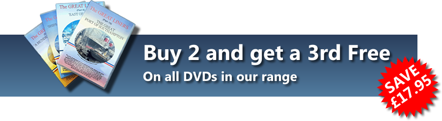 Buy 3 for 2 on rare maritime film DVDs
