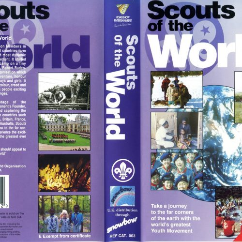 Scouts of the World DVD Sleeve